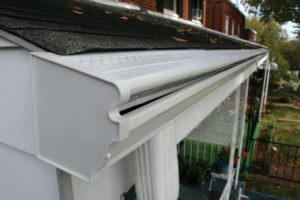Aluminium Seamless Gutters Crescent Wood Country Estate