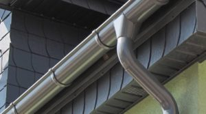 Half-Round Gutters Midstream Estate